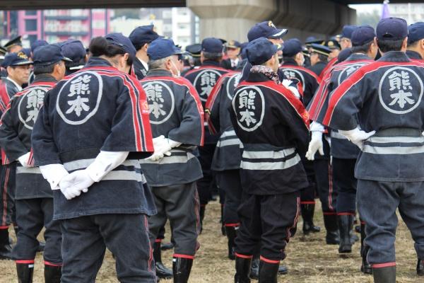 28年度熊本市消防出初式画像