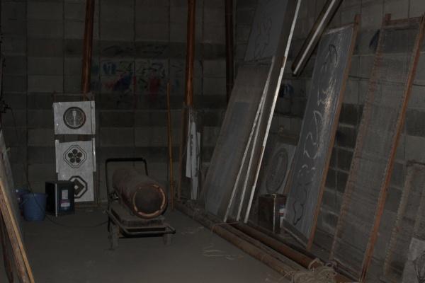 染物屋の乾燥室