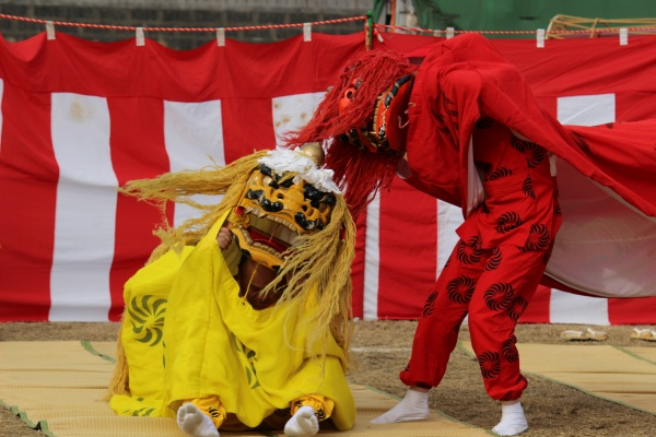 獅子舞衣装